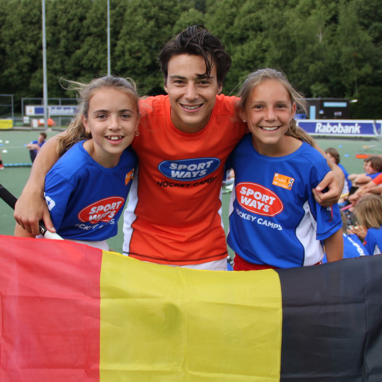 Amsterdam 1. Belgian Star Hockey Camp